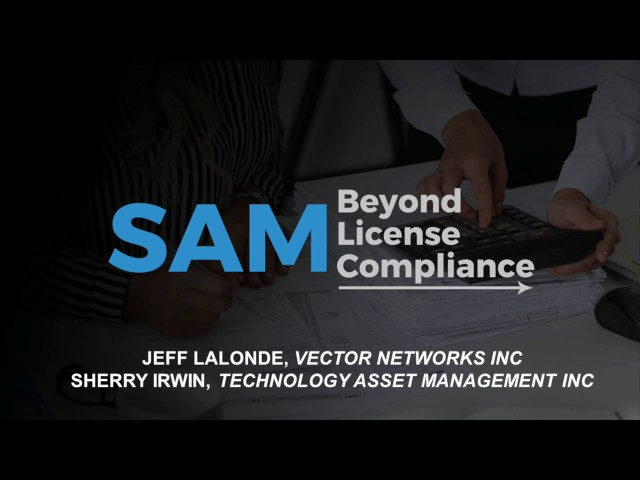 Webinar - SAM : Beyond Compliance