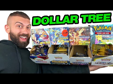 SCAMMED AGAIN BY DOLLAR TREE?!  (Opening *HUNDREDS* Of $1 Pokemon Card Booster Packs)