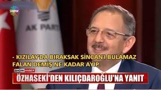 Özhaseki'den Kılıçdaroğlu'na yanıt