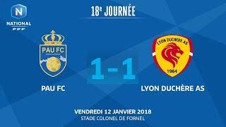 Pau vs Lyon la Duchère full match