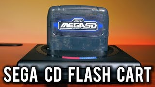 Mega SD Review - Worlds first FPGA Sega CD/Mega CD Flash Cart | MVG
