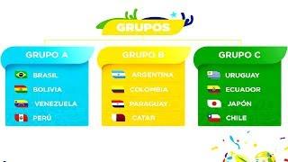 Así quedaron DEFINIDOS los GRUPOS para la COPA AMÉRICA BRASIL 2019