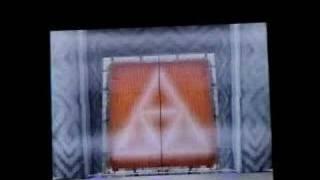 Zelda Phantom Hourglass: How to draw Triforce