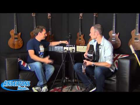 Yamaha THR5A Acoustic Guitar Amp - Andertons World Exclusive Review