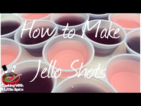 How To Make Jello Shots    The Perfect Party Recipe