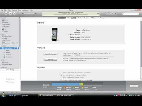 HOW TO: Transfer purchased music from iPhone to iTunes