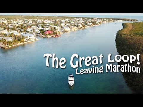 Leaving Marathon & In Search of a Protected Anchorage  | Great Loop Cruising, Ep 10
