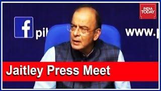 Arun Jaitley Press Meet On SC Verdict On Aadhaar Card; Calls The Verdict Historic