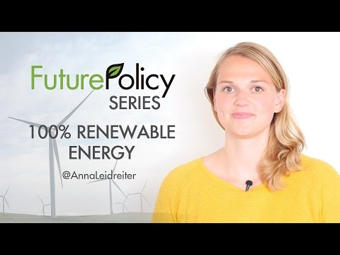 Future Policy Series - 100% Renewable Energy with Anna Leidreiter | World Future Council