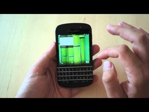 BlackBerry Q10 - komentovaný videopohled