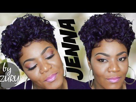 Jenna By Zury Sis Wig Purple Mohawk
