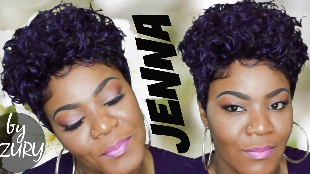 Jenna By Zury Sis Wig Purple Mohawk