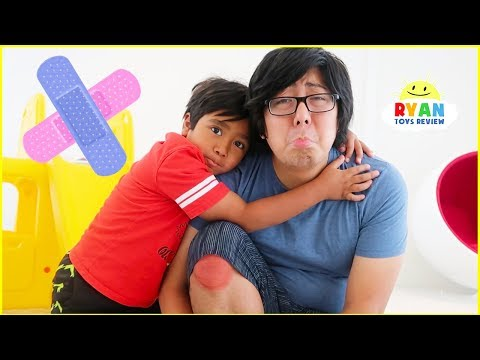 Ryan Sings The Boo Boo Kids Songs and Pretend Play Nursery Rhymes!!!