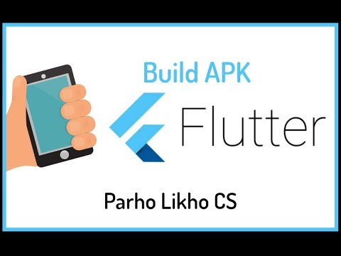 Flutter build APK Android Studio | Flutter Dart Tutorials