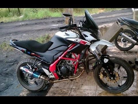 Cah Gagah   Video Modifikasi Motor Honda CB150R Supermoto - Trail - Adventure Keren Terbaru