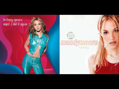 Candy Did It Again - Mandy Moore and Britney Spears Mashup