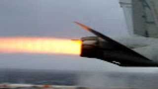 0-165 MPH in 2 seconds! EXTREME ACCELERATION of Super Hornets during supercarrier CATAPULT TAKEOFFS!