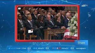 شير | بوش الابن وميشيل أوباما ..صداقة قائمة على الحلوى