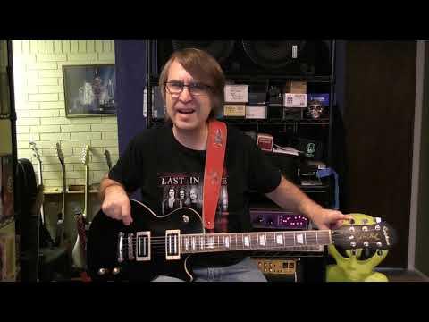 Guitar 1 - Epiphone Vivian Campbell Holy Diver Les Paul