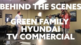 Behind The Scenes Green Family Hyundai TV Commercial смотреть