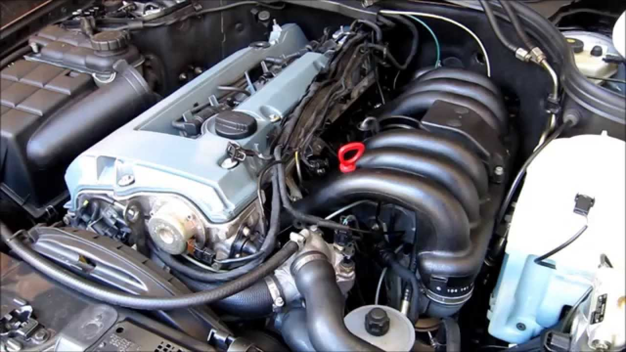 Mercedes benz w202 c280 intake manifold removal installation youtube
