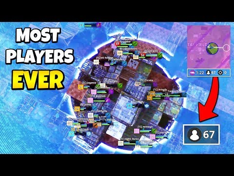 Most Players EVER In Final Storm Circle During Fall Skirmish | Fortnite Daily Funny Moments Ep.237