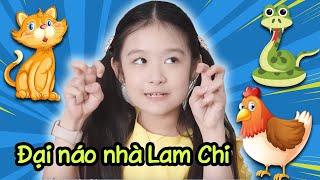 Gia đình là số 1 Phần 2 | Bé Na - ''hoàng thượng'' - gà thành tinh đại náo nhà Lam Chi
