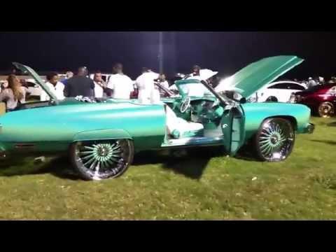 Riding Big Car Show 2015 - Eatonville, Orlando, Florida - Chevy Caprice  Classic Convertible