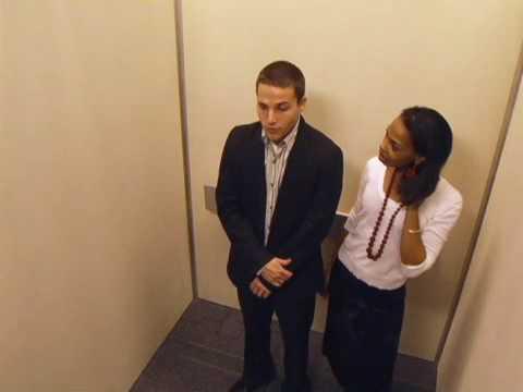 Elevator Crushin' on Shawn Pyfrom