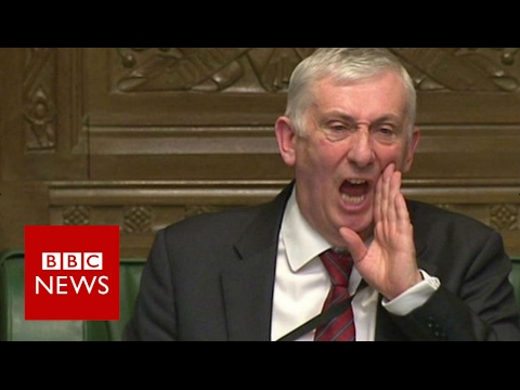 Deputy speaker's fury at SNP Brexit singing - BBC News