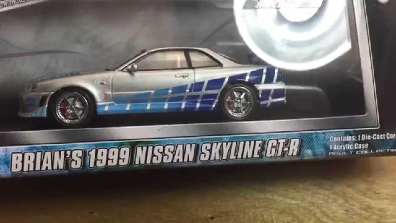 Greenlight 1 43 Nissan Skyline Fast And Furious Review