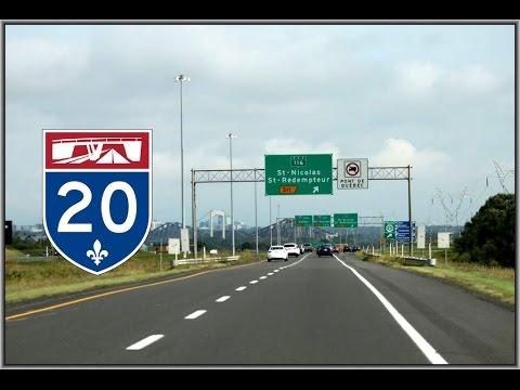 [Ep.4] Freeway Drive : Québec City Autoroute 20 East