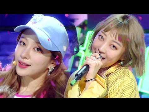 《Comeback Special》 EXID - Night Rather than Day (낮보다는 밤) @인기가요 Inkigayo 20170423