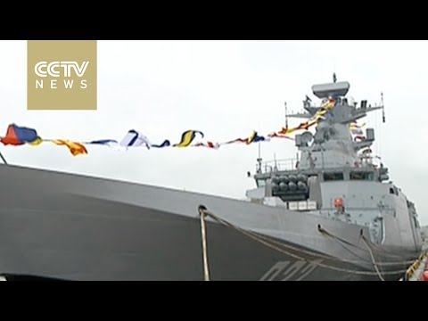 China's latest missile destroyer Yinchuan enters active service in the South Sea Fleet