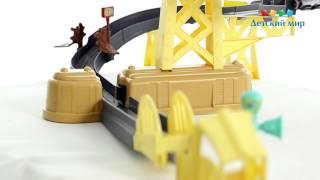Игровой набор Chuggington Die-Cast Тренировочный полигон с мостом
