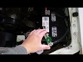 How To Disconnect A Car Battery WIthout Tools In 5 Seconds or Less!
