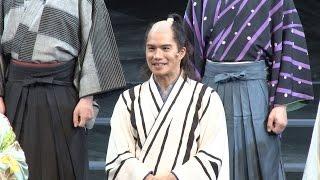 市原隼人が主演を務める舞台「最後のサムライ」が 3月4日(水)から上演さ...