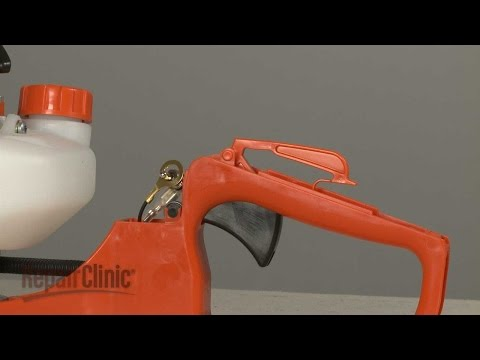 Throttle Control Lock Lever - Echo Hedge Trimmer