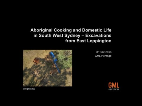 Tim Owen - Aboriginal Cooking and Domestic Life in South West Sydney