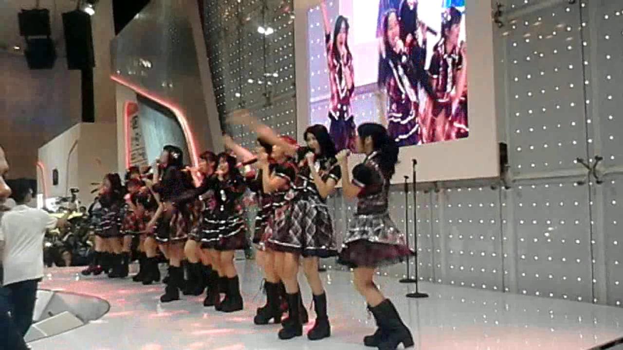 fancam jkt48   mae shika mukanee gcconvex   youtube