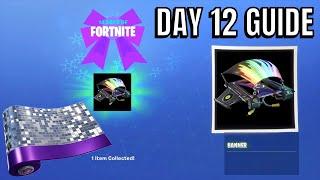 Fortnite 14 jours de jour de Noel 12 récompenses (prévu)