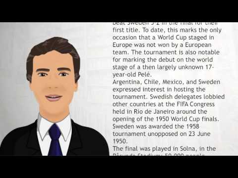 1958 FIFA World Cup - Wiki Videos