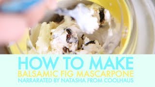 How We Make Balsamic Fig Mascarpone Ice Cream - Coolhaus