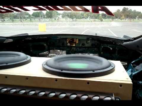Excursion Testing 2 DC Audio XL M1 12s On 6000 Rms