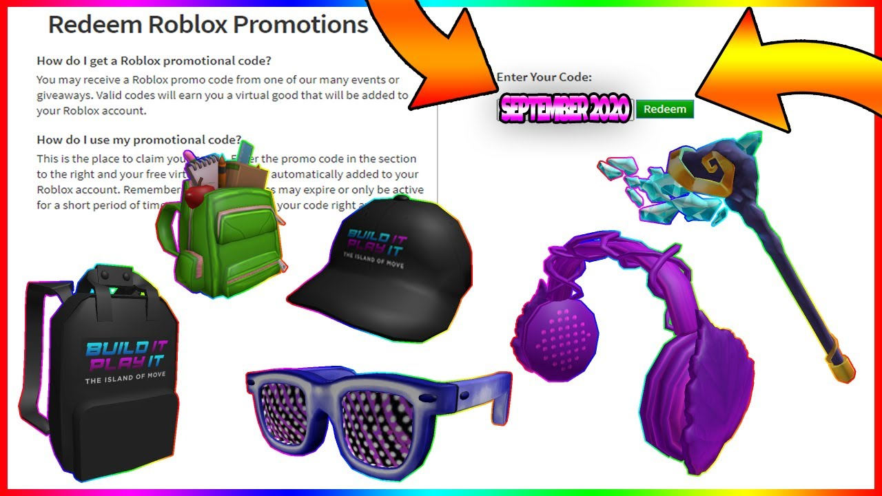 Valid Roblox Promo Codes September 2020 August September 2020 All 6 New Roblox Promo Codes Roblox Secret Codes Youtube