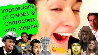 Impressions of Celebs & Characters with Stephanie Andujar