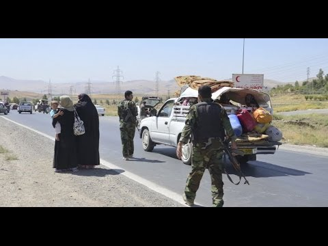 Panic consumes Iraqi Kurdistan as residents flee for safety