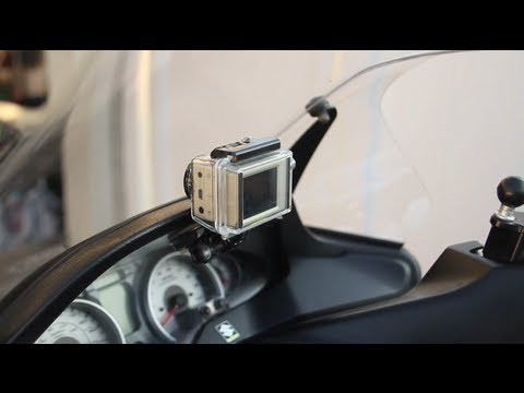 Gopro Mounted On Burgman Time Lapse Riding Youtube