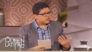 Rico Rodriguez Impersonates Sofia Vergara on The Queen Latifah Show