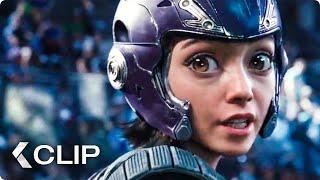 Motorball Arena Fight Movie Clip - Alita: Battle Angel (2019)